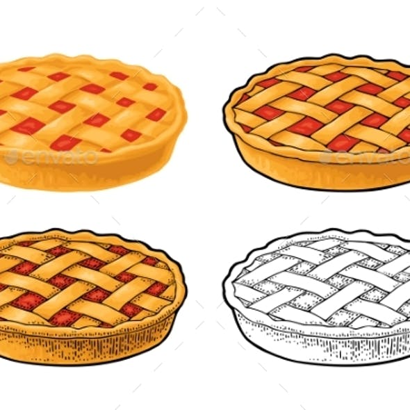 Whole Homemade Fruit Pie