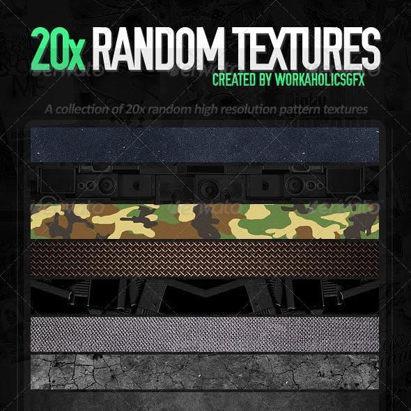 20x WHGFX Random Textures