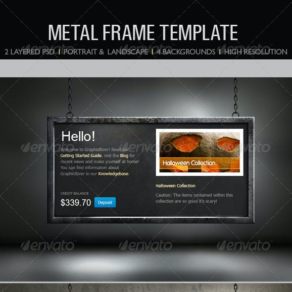 Metal Frame Templates