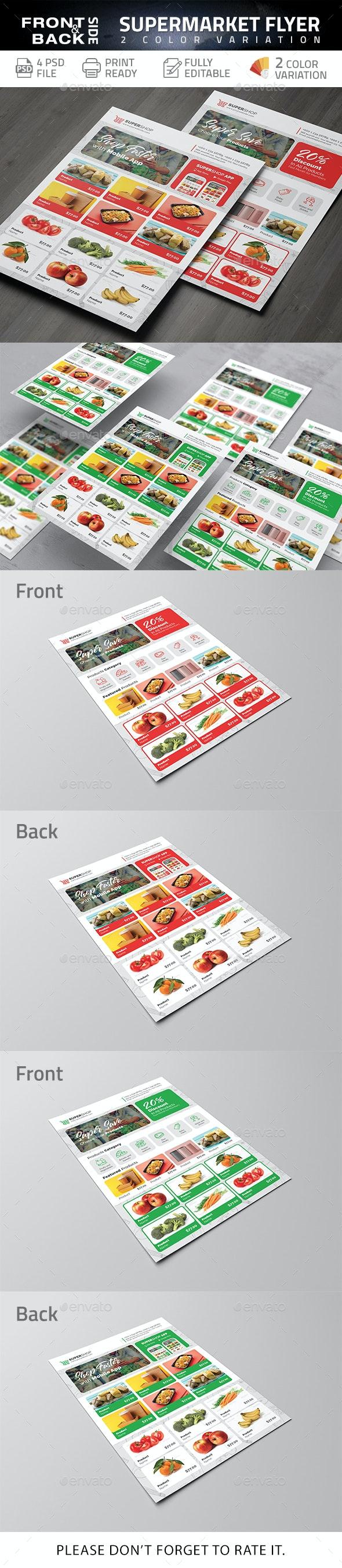 Supermarket Flyer - Commerce Flyers