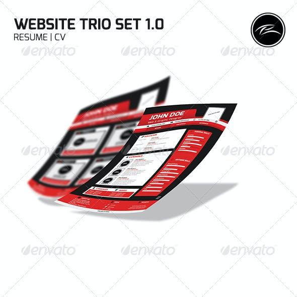 Website Trio Set 1.0