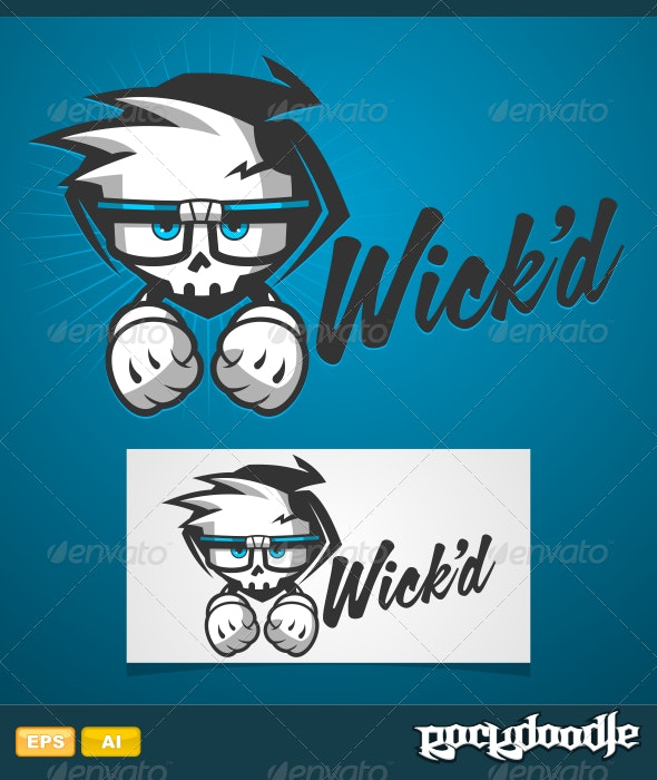 Wicked Logo - Vector Abstract