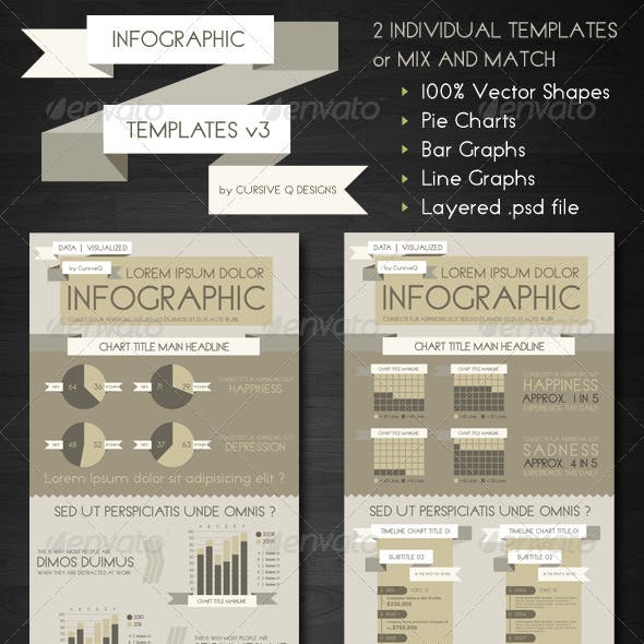 Infographic Templates and Charts v3