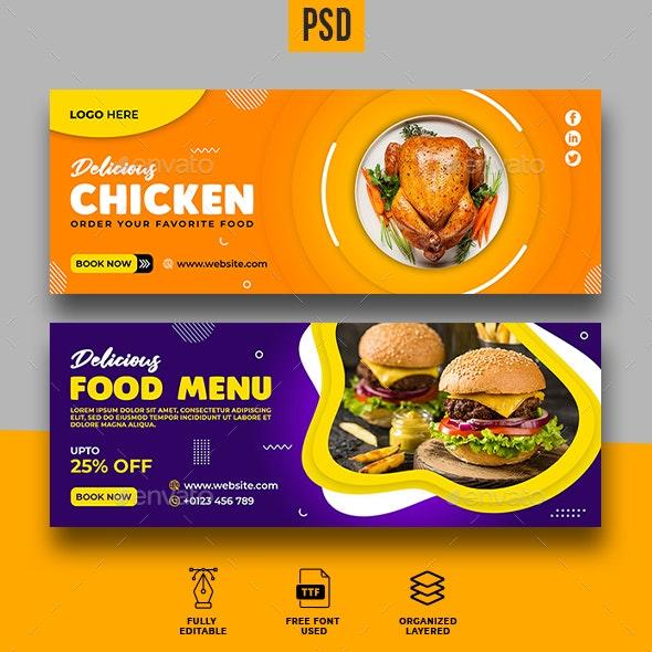 Food Facebook Cover Template - Facebook Timeline Covers Social Media