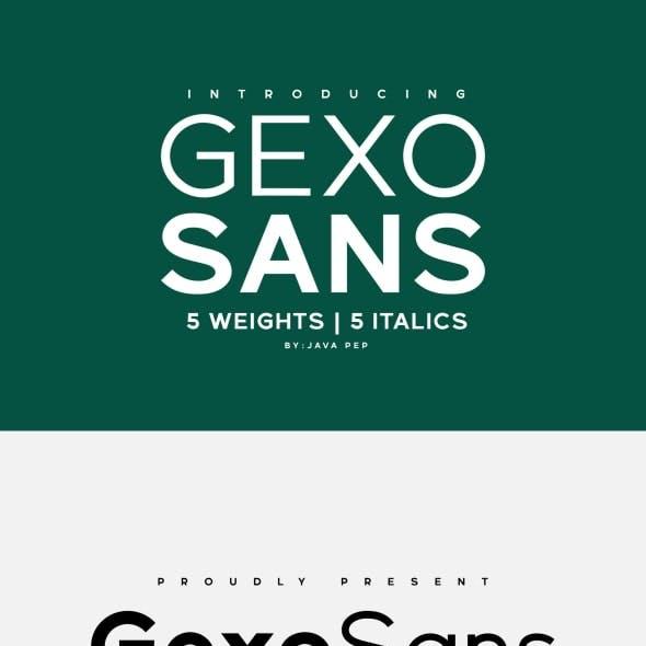 Gexo Sans - Elegant Sans