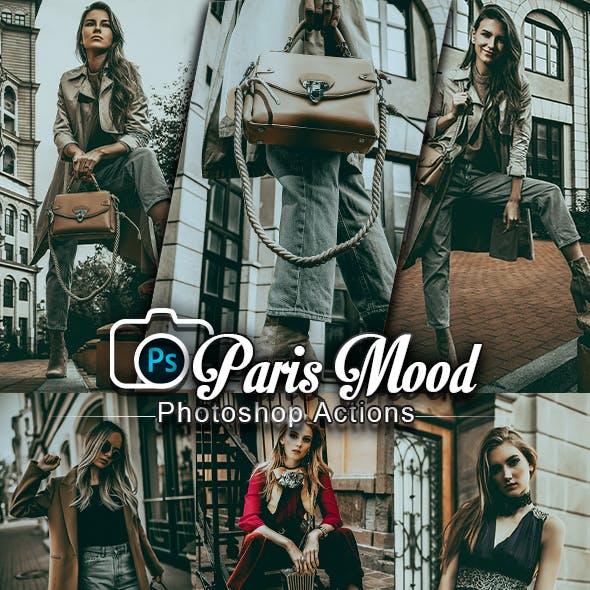 Paris Mood Photoshop Actions