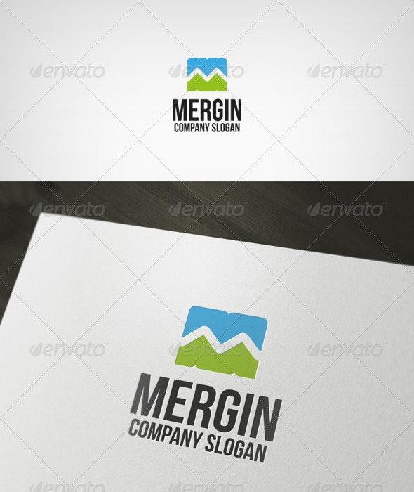 Mergin Logo - Letters Logo Templates