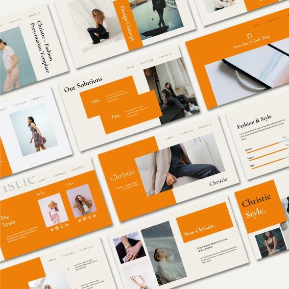 Christie - Creative Google Slide Presentation