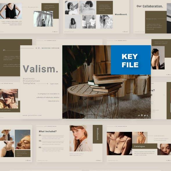 Valism - Creative Presentation Template For Keynote