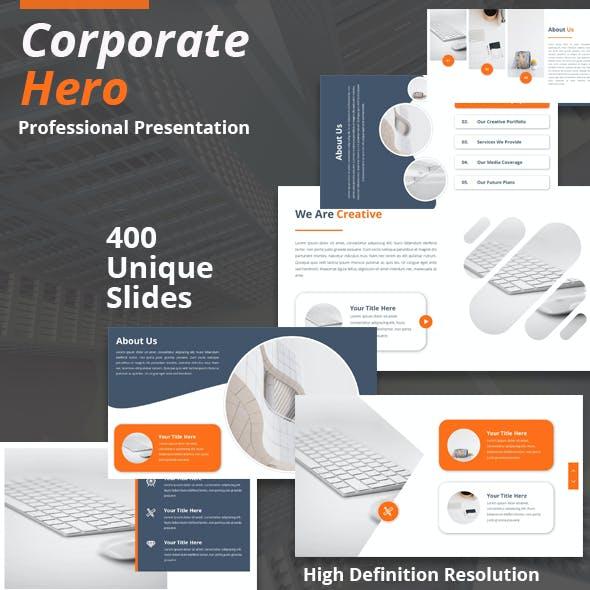Corporate Hero Powerpoint Presentation Template