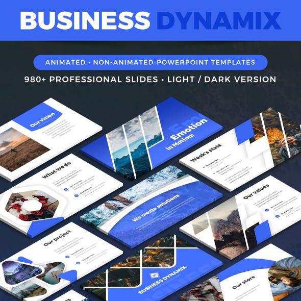 Business Minimal Pitch Deck