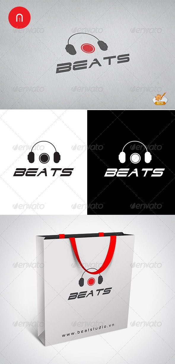 Beats Studio Logo Template - Objects Logo Templates