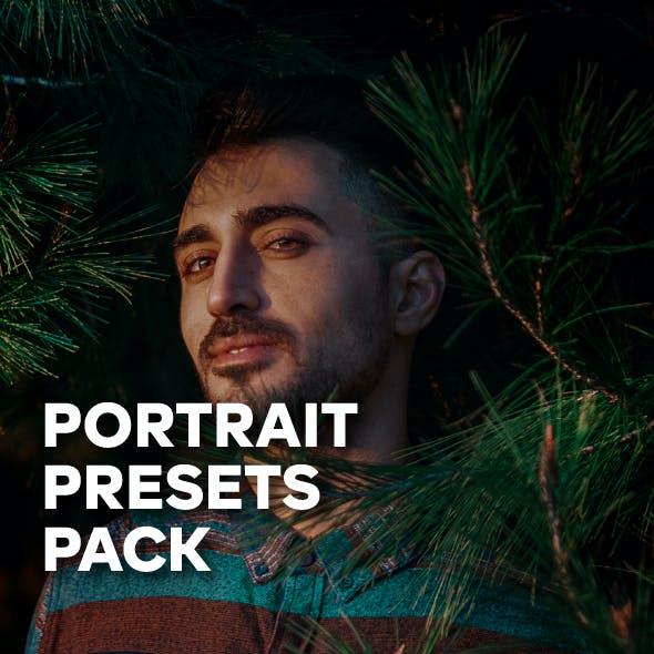 Pro Tones Portrait Lightroom Pack
