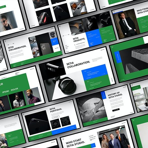 Setia – Business Google Slides Template
