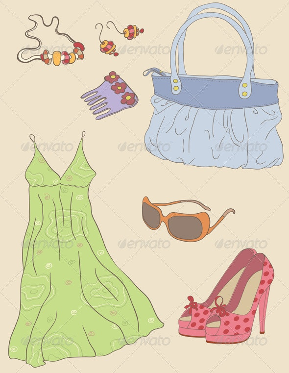 Fashion Accessories - Commercial / Shopping Conceptual
