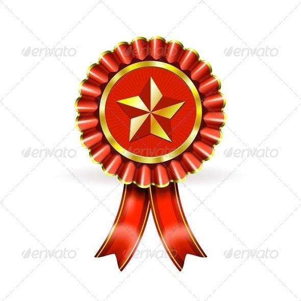 Award Label - Decorative Symbols Decorative