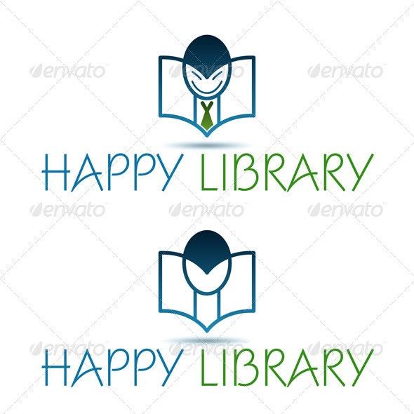 Happy Library - Objects Logo Templates