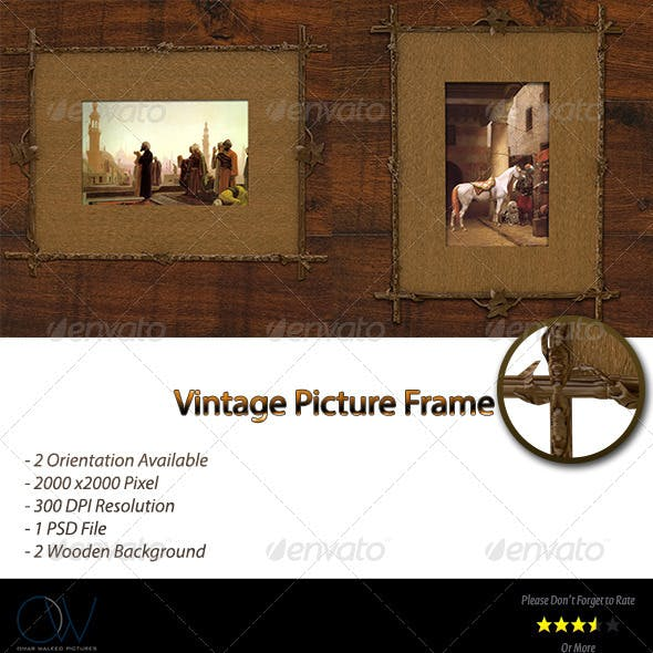 Vintage Frame Picture