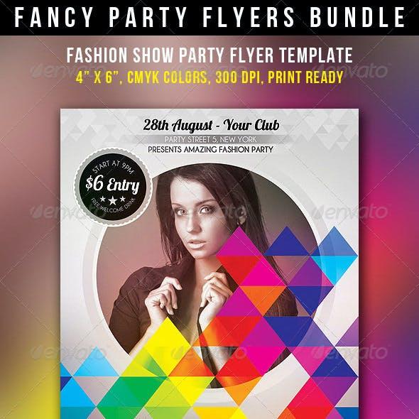 Fancy Party Flyers Bundle