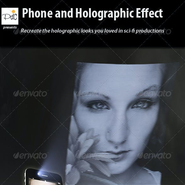 Phone and Holographic Effect