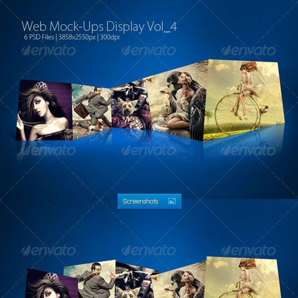 Web Mock-Ups Display Vol_4