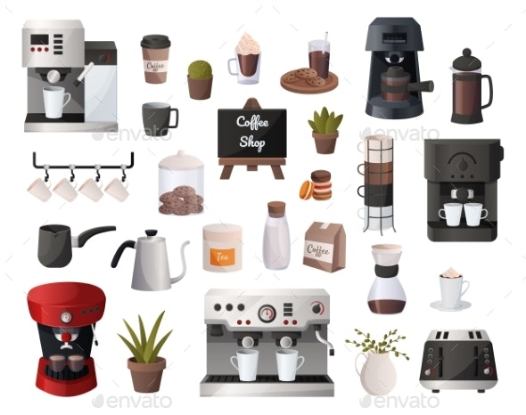 Coffee Supplies - Food Objects