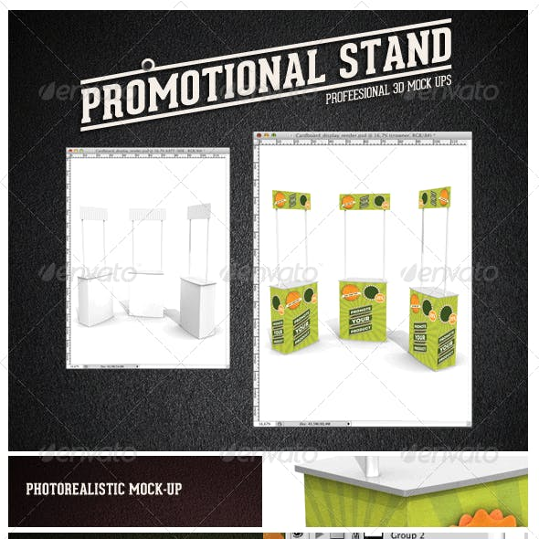 Promotional Stand Mock-up