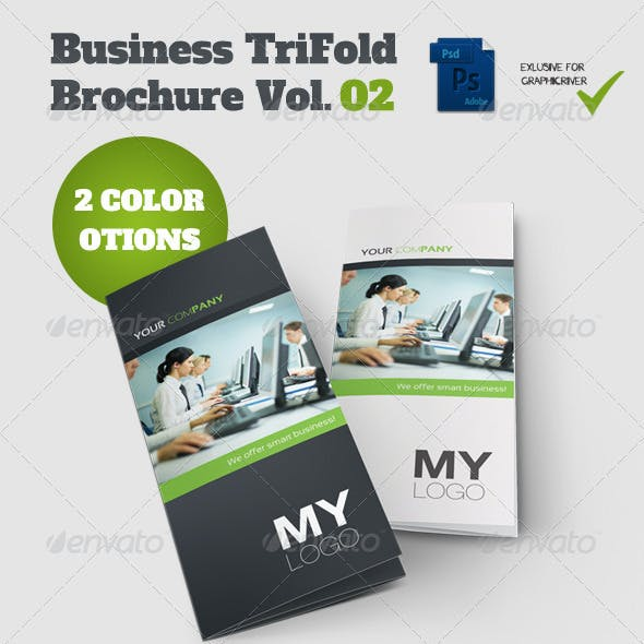 Tri Fold Brochure Vol. 02