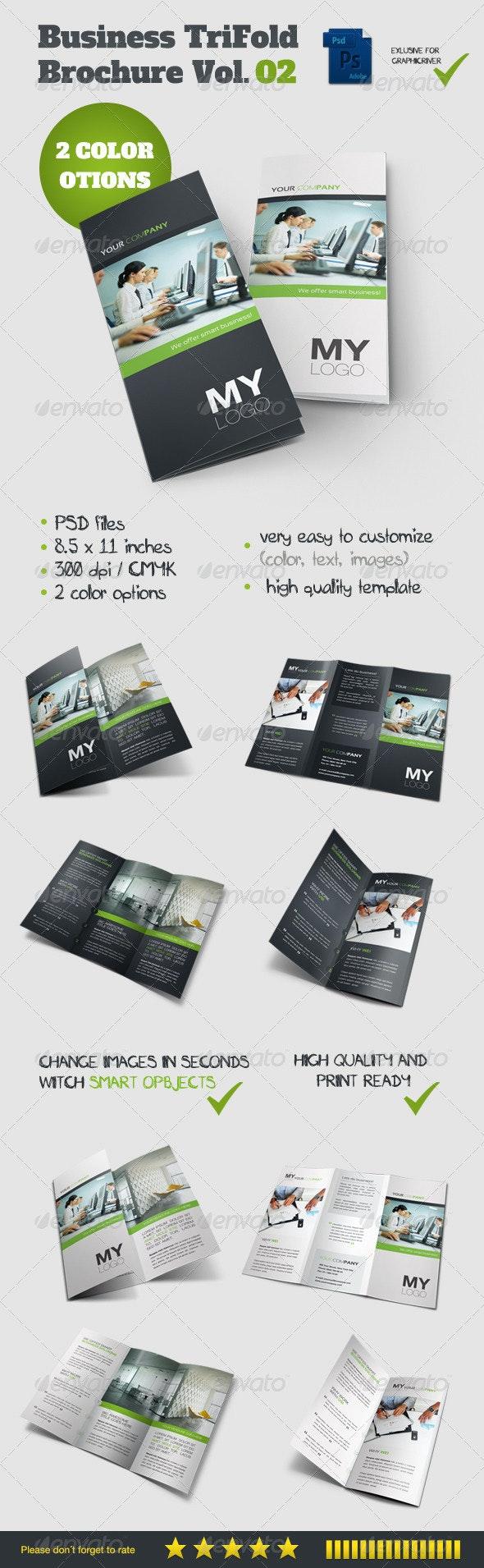Tri Fold Brochure Vol. 02 - Brochures Print Templates
