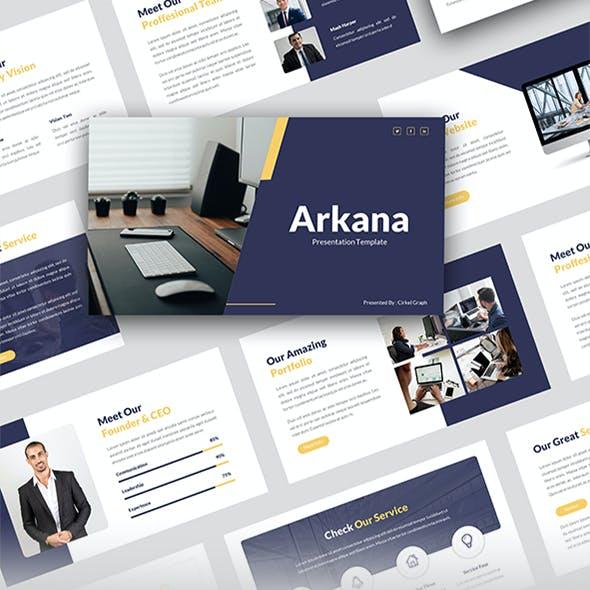 Arkana - Business PowerPoint Template