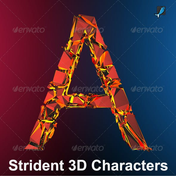 Strident 3D Characters