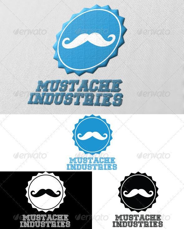 Mustache Industries Logo - Crests Logo Templates