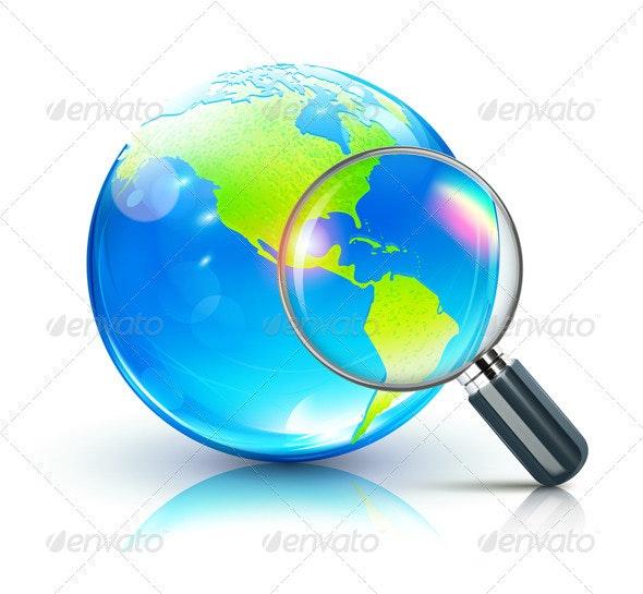 Global search concept  - Conceptual Vectors