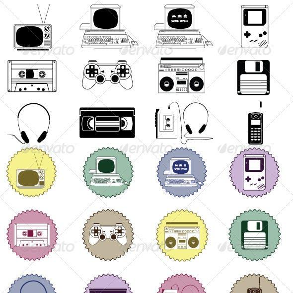 Retro Gadget Pack