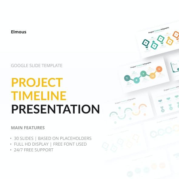Project Timeline Google Slide Presentation Template