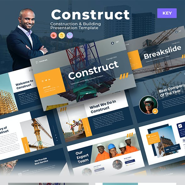 Construct – Construction & Building Keynote Template