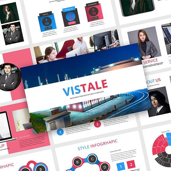 Vistale - Creative Business Google Slides Template