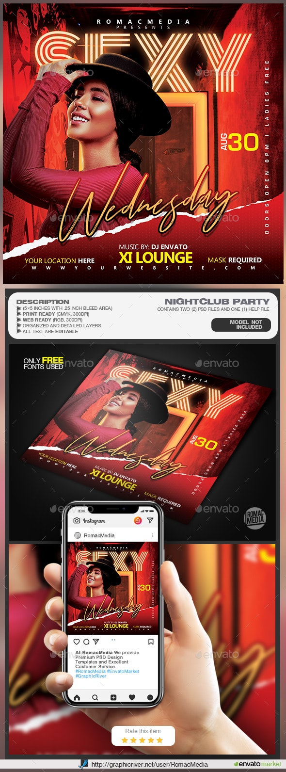 Night Club Flyer - Clubs & Parties Events
