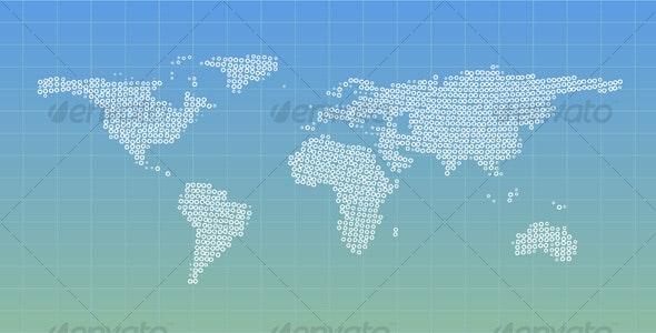 Circles world - Decorative Symbols Decorative
