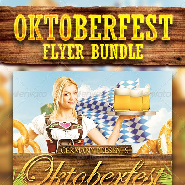 Oktoberfest Festival Flyer Bundle