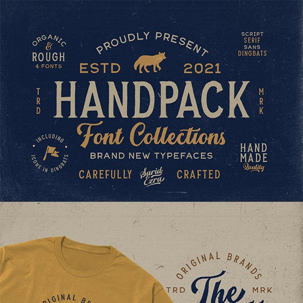 Handpack Font Collections