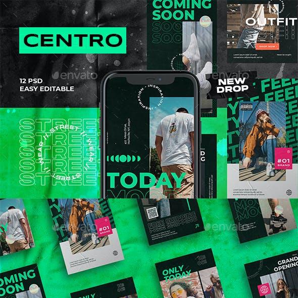 Centro Fashion Instagram Template