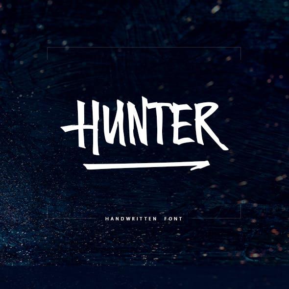 Hunter Handwritten Font