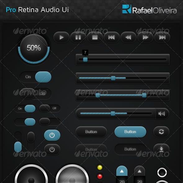 Pro Retina Audio UI