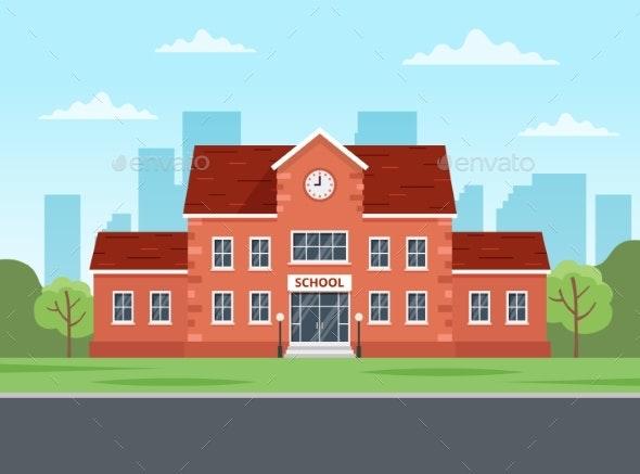 School Building - Miscellaneous Vectors