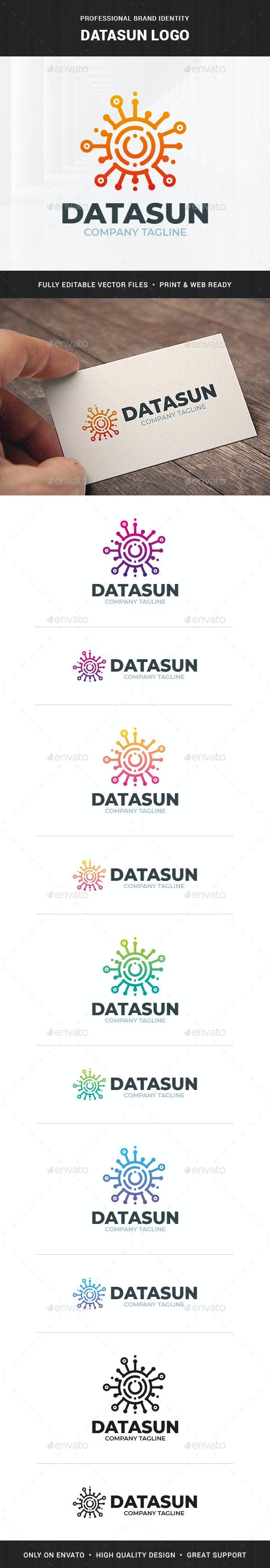 Datasun Logo Template - Abstract Logo Templates