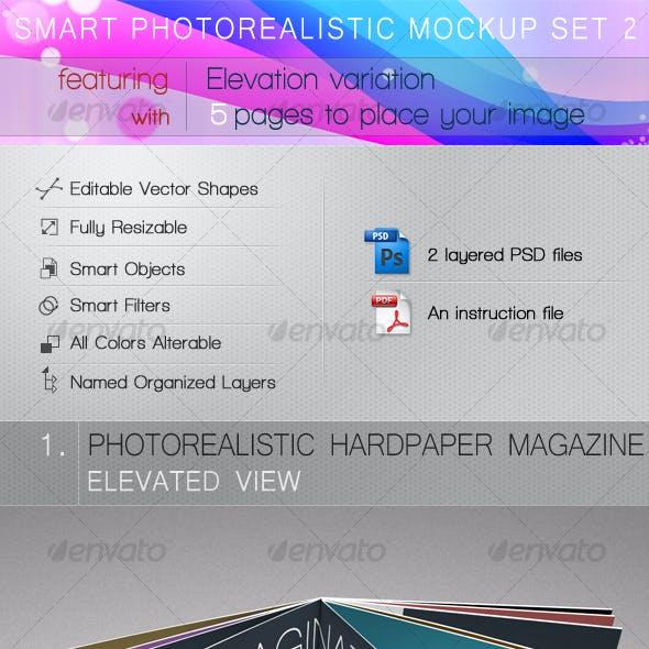 Smart Photorealistic Mockup Set 2