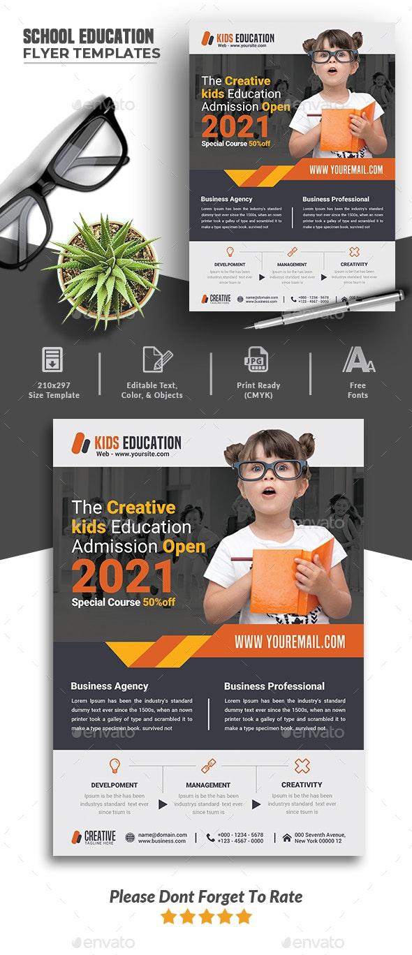 School Education Flyer Templates - Corporate Flyers