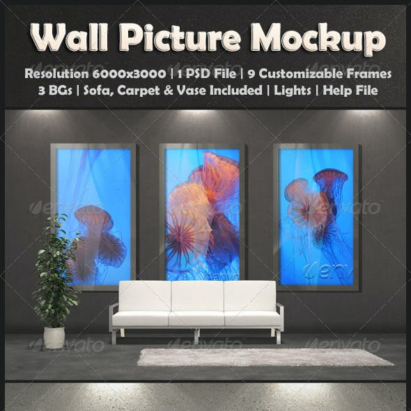 Wall Picture Mock-Up