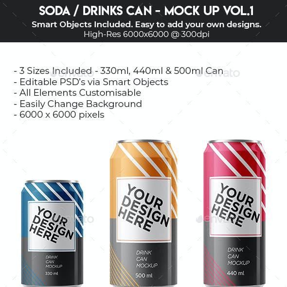 Aluminium Soda Can
